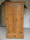 499 antique english pine astragal glazed corner cupboard has traces of original old paintreeded canted corners circa 1840 antique english pine armoire