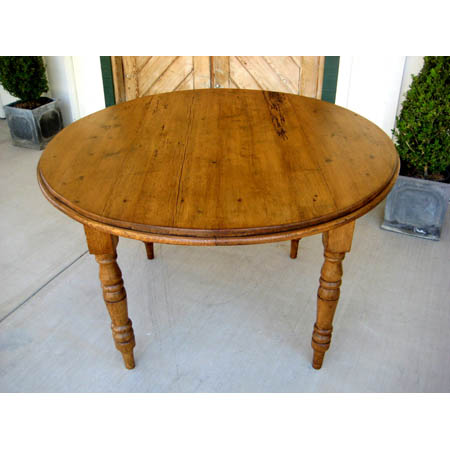 pine trader - Round Pine Kitchen Table